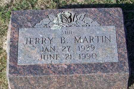 MARTIN, JERRY B - Johnson County, Arkansas | JERRY B MARTIN - Arkansas Gravestone Photos