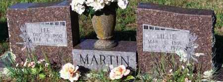 MARTIN, LILLIE - Johnson County, Arkansas | LILLIE MARTIN - Arkansas Gravestone Photos