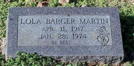 MARTIN, LOLA - Johnson County, Arkansas | LOLA MARTIN - Arkansas Gravestone Photos