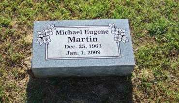MARTIN, MICHAEL EUGENE - Johnson County, Arkansas | MICHAEL EUGENE MARTIN - Arkansas Gravestone Photos