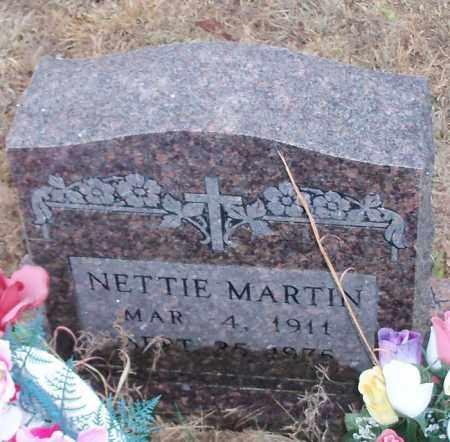 MARTIN, NETTIE - Johnson County, Arkansas   NETTIE MARTIN - Arkansas Gravestone Photos