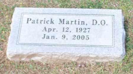 MARTIN, PATRICK D.O. - Johnson County, Arkansas | PATRICK D.O. MARTIN - Arkansas Gravestone Photos