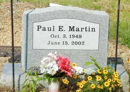MARTIN, PAUL E - Johnson County, Arkansas | PAUL E MARTIN - Arkansas Gravestone Photos
