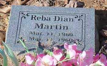 MARTIN, REBA DIAN - Johnson County, Arkansas | REBA DIAN MARTIN - Arkansas Gravestone Photos
