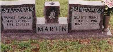 MARTIN, VANIS EDWARD - Johnson County, Arkansas | VANIS EDWARD MARTIN - Arkansas Gravestone Photos