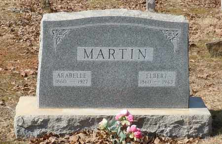 MARTIN, ARABELLE - Johnson County, Arkansas | ARABELLE MARTIN - Arkansas Gravestone Photos