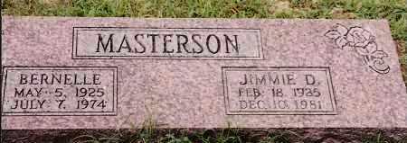 MASTERSON, BERNELLE - Johnson County, Arkansas | BERNELLE MASTERSON - Arkansas Gravestone Photos