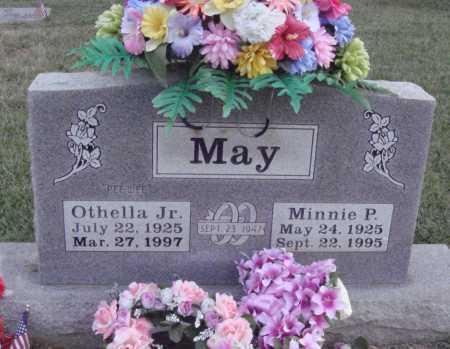 MAY, MINNIE P. - Johnson County, Arkansas   MINNIE P. MAY - Arkansas Gravestone Photos
