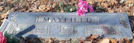 MAYFIELD, MARTHA E - Johnson County, Arkansas | MARTHA E MAYFIELD - Arkansas Gravestone Photos