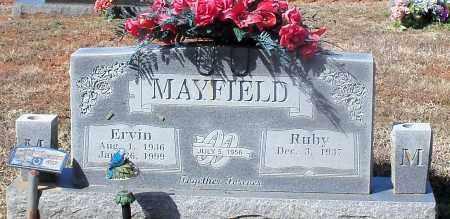 MAYFIELD, ERVIN LEE - Johnson County, Arkansas | ERVIN LEE MAYFIELD - Arkansas Gravestone Photos