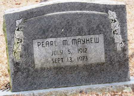 MAYHEW, PEARL M - Johnson County, Arkansas | PEARL M MAYHEW - Arkansas Gravestone Photos