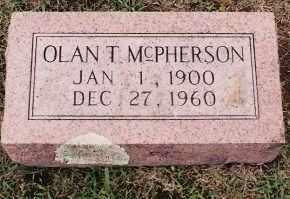MCPHERSON, OLAN T. - Johnson County, Arkansas | OLAN T. MCPHERSON - Arkansas Gravestone Photos