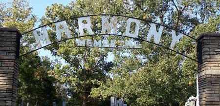 *HARMONY MEMORIAL SIGN,  - Johnson County, Arkansas |  *HARMONY MEMORIAL SIGN - Arkansas Gravestone Photos