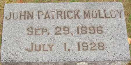 MOLLOY, JOHN PATRICK - Johnson County, Arkansas | JOHN PATRICK MOLLOY - Arkansas Gravestone Photos