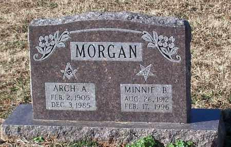 MORGAN, ARCH A - Johnson County, Arkansas | ARCH A MORGAN - Arkansas Gravestone Photos