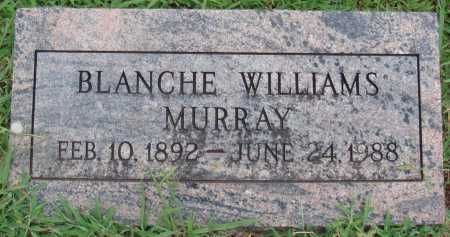 WILLIAMS MURRAY, BLANCHE - Johnson County, Arkansas | BLANCHE WILLIAMS MURRAY - Arkansas Gravestone Photos