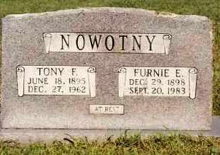 NOWOTNY, FURNIE E. - Johnson County, Arkansas   FURNIE E. NOWOTNY - Arkansas Gravestone Photos