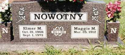 NOWOTNY, MAGGIE M. - Johnson County, Arkansas | MAGGIE M. NOWOTNY - Arkansas Gravestone Photos