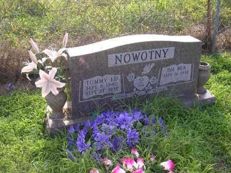 NOWOTNY, IVA BEA - Johnson County, Arkansas   IVA BEA NOWOTNY - Arkansas Gravestone Photos