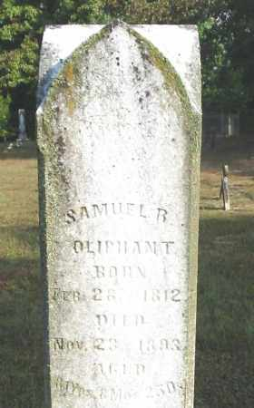 OLIPHANT, SAMUEL R. - Johnson County, Arkansas | SAMUEL R. OLIPHANT - Arkansas Gravestone Photos