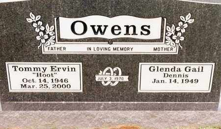 "OWENS, TOMMY ERVIN ""HOOT"" - Johnson County, Arkansas 