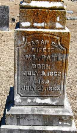 PATE, SARAH C - Johnson County, Arkansas | SARAH C PATE - Arkansas Gravestone Photos