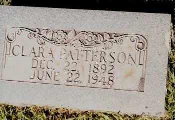 PATTERSON, CLARA - Johnson County, Arkansas   CLARA PATTERSON - Arkansas Gravestone Photos