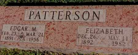 PATTERSON, EDGAR M. - Johnson County, Arkansas | EDGAR M. PATTERSON - Arkansas Gravestone Photos