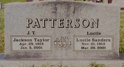 PATTERSON, JACKSON TAYLOR - Johnson County, Arkansas | JACKSON TAYLOR PATTERSON - Arkansas Gravestone Photos