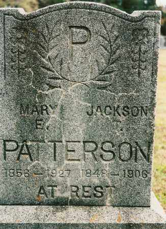 PATTERSON, JACKSON T. - Johnson County, Arkansas | JACKSON T. PATTERSON - Arkansas Gravestone Photos