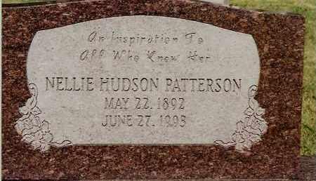 PATTERSON, NELLIE HUDSON - Johnson County, Arkansas | NELLIE HUDSON PATTERSON - Arkansas Gravestone Photos