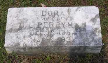 PERRYMAN, DORA - Johnson County, Arkansas | DORA PERRYMAN - Arkansas Gravestone Photos