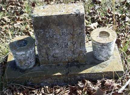 PIERCE, MARY F - Johnson County, Arkansas | MARY F PIERCE - Arkansas Gravestone Photos