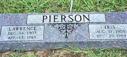PIERSON, IRIS - Johnson County, Arkansas | IRIS PIERSON - Arkansas Gravestone Photos