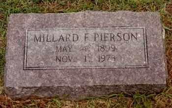 PIERSON, MILLARD F. - Johnson County, Arkansas   MILLARD F. PIERSON - Arkansas Gravestone Photos