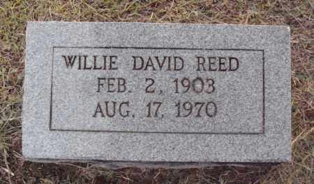 REED, WILLIE DAVID - Johnson County, Arkansas | WILLIE DAVID REED - Arkansas Gravestone Photos