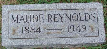 REYNOLDS, MAUD - Johnson County, Arkansas | MAUD REYNOLDS - Arkansas Gravestone Photos