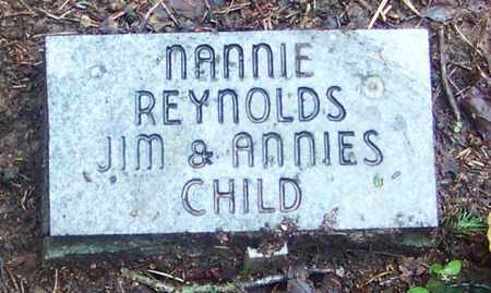 REYNOLDS, NANNIE - Johnson County, Arkansas | NANNIE REYNOLDS - Arkansas Gravestone Photos