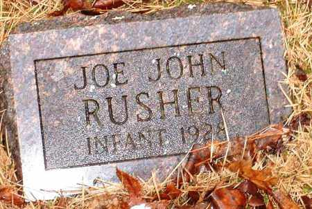 RUSHER, JOE JOHN - Johnson County, Arkansas | JOE JOHN RUSHER - Arkansas Gravestone Photos