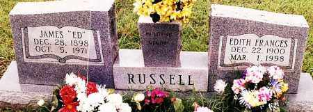 "RUSSELL, JAMES ""ED"" - Johnson County, Arkansas | JAMES ""ED"" RUSSELL - Arkansas Gravestone Photos"