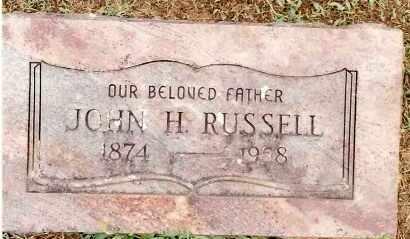 RUSSELL, JOHN H. - Johnson County, Arkansas   JOHN H. RUSSELL - Arkansas Gravestone Photos