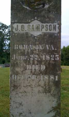 SAMPSON, J. O. - Johnson County, Arkansas | J. O. SAMPSON - Arkansas Gravestone Photos
