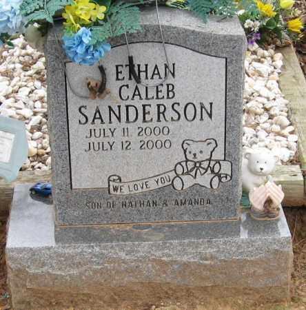 SANDERSON, ETHAN CALEB - Johnson County, Arkansas | ETHAN CALEB SANDERSON - Arkansas Gravestone Photos