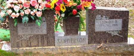 SANDERSON, GLADYS - Johnson County, Arkansas   GLADYS SANDERSON - Arkansas Gravestone Photos