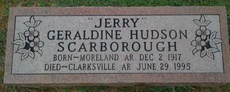 "SCARBOROUGH, GERALDINE ""JERRY"" - Johnson County, Arkansas | GERALDINE ""JERRY"" SCARBOROUGH - Arkansas Gravestone Photos"