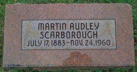 SCARBOROUGH, MARTIN AUDLEY - Johnson County, Arkansas | MARTIN AUDLEY SCARBOROUGH - Arkansas Gravestone Photos