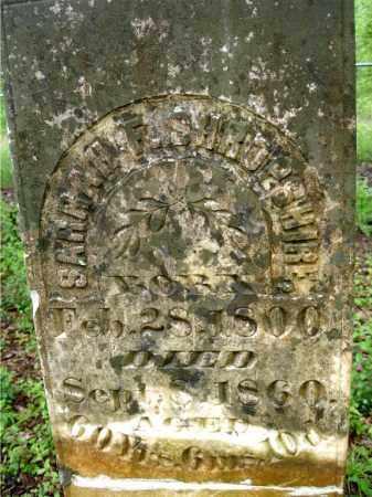NESBITT SHROPSHIRE, SARAH F. - Johnson County, Arkansas | SARAH F. NESBITT SHROPSHIRE - Arkansas Gravestone Photos