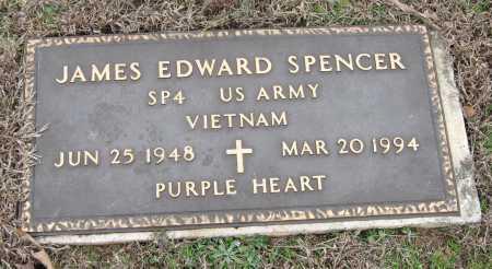 SPENCER  (VETERAN VIET), JAMES EDWARD - Johnson County, Arkansas | JAMES EDWARD SPENCER  (VETERAN VIET) - Arkansas Gravestone Photos