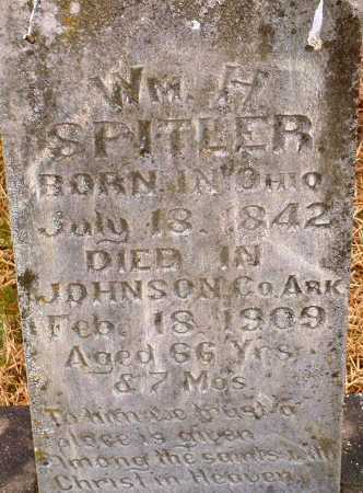 SPITLER, WILLIAM H - Johnson County, Arkansas | WILLIAM H SPITLER - Arkansas Gravestone Photos