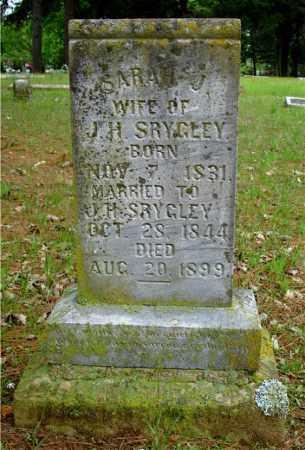 SRYGLEY, SARAH J. - Johnson County, Arkansas | SARAH J. SRYGLEY - Arkansas Gravestone Photos